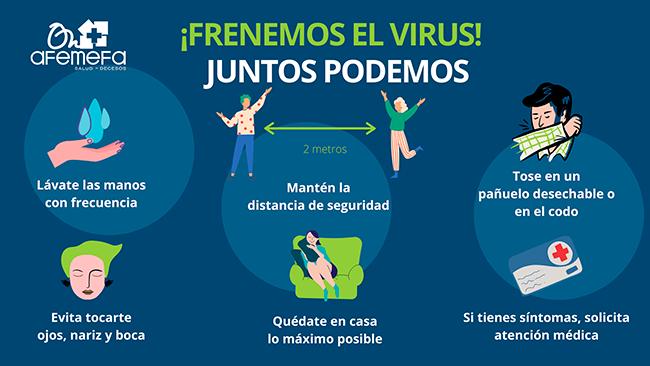 ¡Frenemos el Virus!