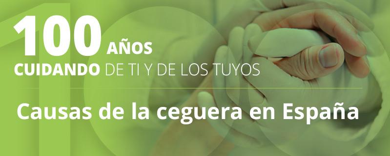 Causas de la ceguera en España