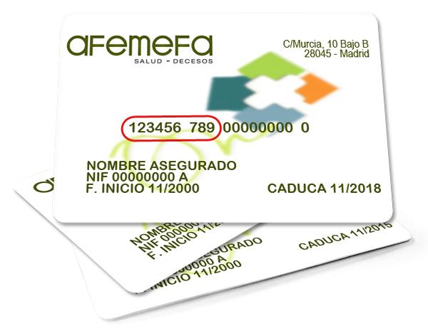 Tarjeta de Mutualista - Seguros de Salud AFEMEFA