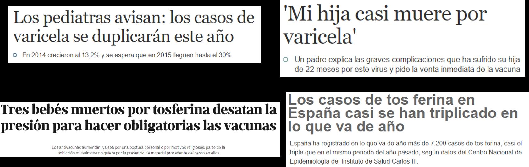 CASO VACUNA VARICELA Y TOSFERINA