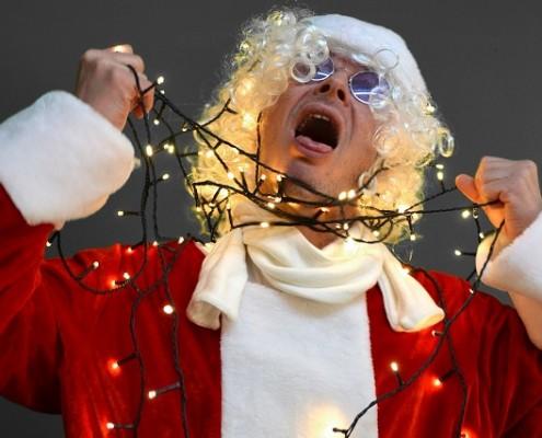 estrés en navidad