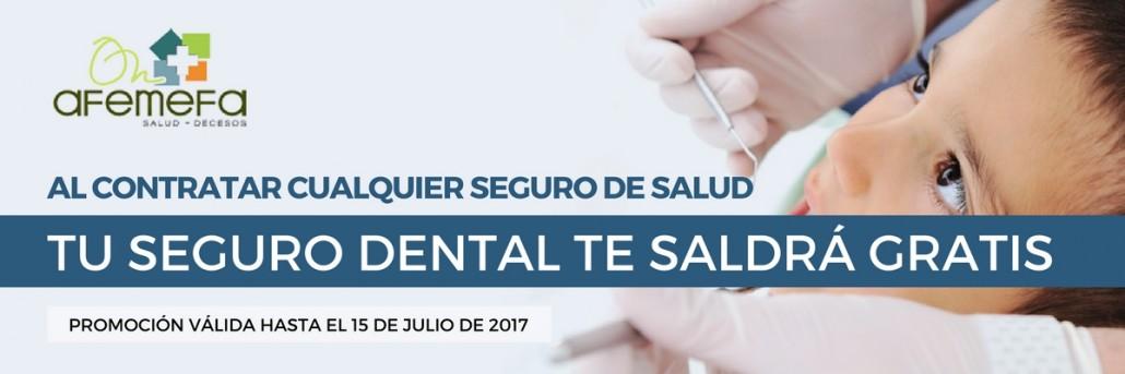 Promoción Seguro Dental Gratis