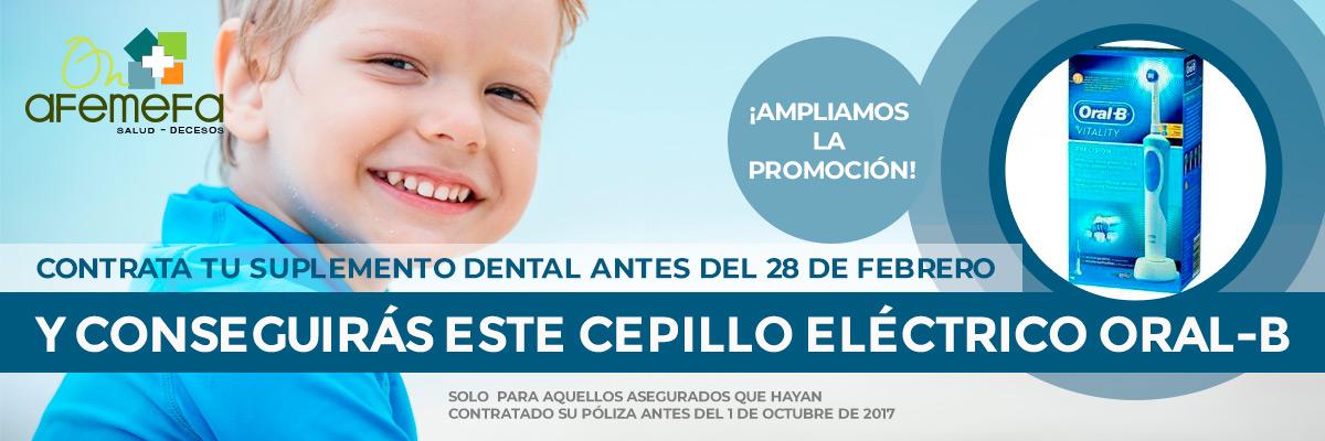 Promoción Cepillo Oral-B