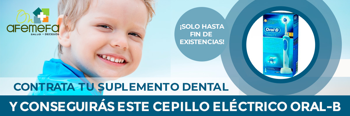 Promoción regalo cepillo Oral B