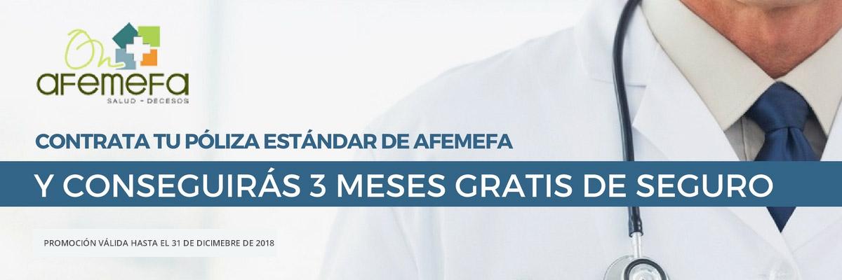 Contrata tu póliza estándar AFEMEFA