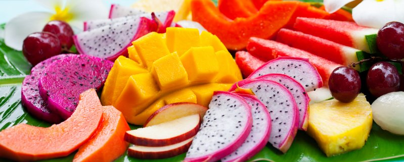 Frutas tropicales beneficiosas para tu salud
