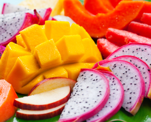 frutas tropicales beneficiosas para la salud